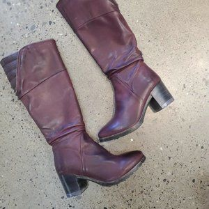 Tall Leather Boots by Jelymin